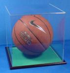 Wholesale acrylic football display box basketball box  ball showcase from china suppliers