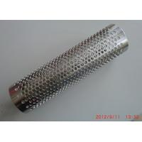 Wholesale Punching / Perforated Stainless Steel Heat Resistance Spiral Welded Pipe Filter Element from china suppliers