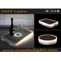 Wholesale Colorful illuminate plastic rechargeable  LED ice bottles tray from china suppliers