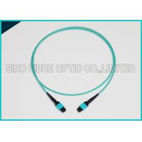 Buy cheap 3.0mm 100Gbps 24F MPO MTP Mating Fiber Optical Multimode OM3 Trunk Method B Patch Cable from wholesalers