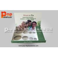 Wholesale PP Glossy Lamination Retail Counter Displays / Counter Top Display Stands For Bottles from china suppliers