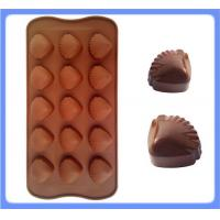 Wholesale Popular Selling Cute Design Shell Shape Silicone Chocolate Mold Made In China from china suppliers