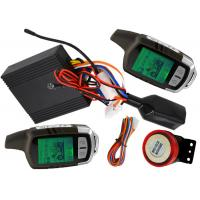 Wholesale LCD Alarm Bike Security Alarm And Remote Start System With Big Sound Siren from china suppliers