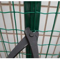 Wholesale Welded Reusable Garden Border Fence PVC Coated Green With High Strength from china suppliers