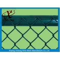 Wholesale Pvc Dipped Coating Chain Link Mesh Fence With Various Colors XLF-09 from china suppliers