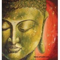 Wholesale 100% Handmade Buddha Decoration Oil Painting On Canvas from china suppliers
