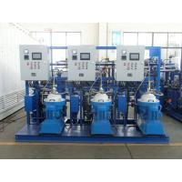 Wholesale 3000 - 9000 L/H PLC Centrifugal Lubricating Oil Purifier Separator Variable Discharging Type from china suppliers