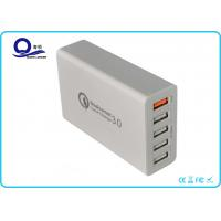 Wholesale Quick Charge QC 3.0 Multiple Port Desktop Charging Station USB Charger with Smart IC from china suppliers