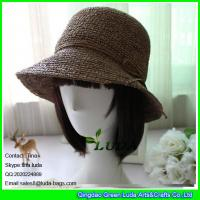 Wholesale LDMZ-004 2016 fashion summer raffia straw hats from china suppliers