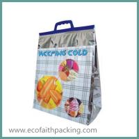 Wholesale Thermal Food Bag with Handle Isothermal Tote Bag for Frozen Food from china suppliers