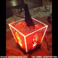 Quality Ledpos Customized Rechargeable LED Ice Bucket for sale