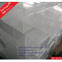 Wholesale Shoe Display Case Set Acrylic Display Stands 3 Pieces Customized from china suppliers