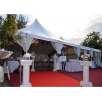 Wholesale Elegant High Peak Frame Tent Aluminum Structure Material Clear Span Design from china suppliers
