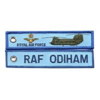 Buy cheap Raf Odiham Royal Air Force Fabric Key Chain Aviation Tags from wholesalers