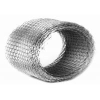 China Fine Expanded Metal Wire Mesh Decorative Galvanized Steel Sheet 0.5mm Thickness on sale