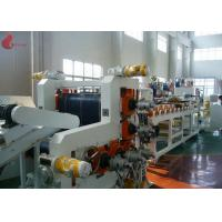 Quality 720 mm width Five Rollers PVC Calender Machine With PLC control touch screen for sale