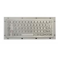 Wholesale IP67 vandal proof  rear panel mount keyboard rugged keyboard for outdoor computer from china suppliers