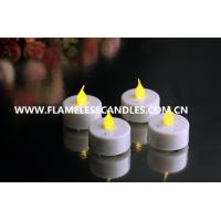 Wholesale Battery-powered Flameless LED Tealights Candles with Blow Function for Wedding Gift from china suppliers