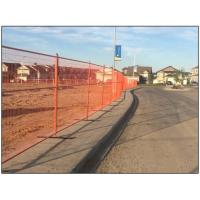 Buy cheap 6'X9.5'PVC powder coated temporary fence panel,construction fence and Canada temporary fence panels hot sale from wholesalers