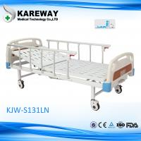 Wholesale Powder Coated Steel Motorized Hospital Bed , 5 Inches Castors Electric Hospital Beds With Side Rails from china suppliers