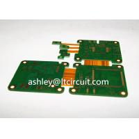 Wholesale Multilayer Mix Rigid Flexible PCB L2-18 Gold Plating Blind / Burried Vias from china suppliers