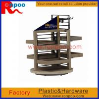 Wholesale Wooden Cosmetic Display Stand,Wooden Floor Cosmetic Display Stand,MDF Display Stands,Standing Wood Display from china suppliers