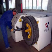 Buy cheap Truck waste tyre cutting machine/used tyre sidewall cutter/scrap tyre cutter from wholesalers