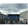 Buy cheap TC6520 External Topkit Tower Crane 65m Jib Specs 2*3m Split Mast Section from wholesalers