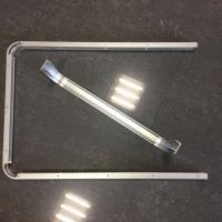 Wholesale Custom Small Radius Aluminum Bending Profiles with Silver Anodized from china suppliers