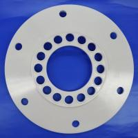Wholesale CNC Machining Zirconia Ceramic Gas Seal with Holes for Petroleum Equipment from china suppliers