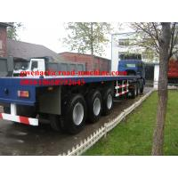 Wholesale 40 Feets Double - Function Flatbed Trailer 3 Axles / 4 Axles For Tansporting Containers from china suppliers
