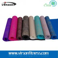 Wholesale Ningbo Virson Fashionable hot-sale eco-friendly jute mat/yoga mat from china suppliers