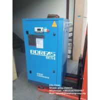 Quality 116 Psi 60 CFM Oil Less Double Auto Screw Type Air Compressors Single Stage 11kw for sale
