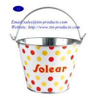 Wholesale metal bucket、tin bucket 、tin pail、metal pail, Tin pails, Tin buckets, metal buckets, metal pails from china suppliers