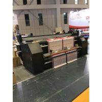 Quality CMYK Automatic Digital Flag Sublimation Printing Machine With Epson DX5 Head for sale
