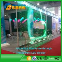 Wholesale P10 Transparent LED Display Screen for Window Show Advertising from china suppliers