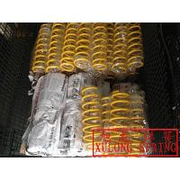 yellow powder coated OEM good price lowering coil springs
