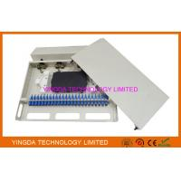 """Wholesale 1U 24 Port 19"""" SC SM 24 Cores Fiber Patch Panel SC Pigtail And SC Adapters from china suppliers"""