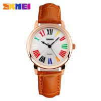 Wholesale Waterproof Girls Wrist Watch Roman Capitals Personalized Colorful from china suppliers
