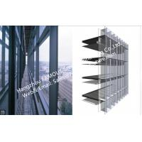 Quality Double Glass Wall Ventilated Façade Office Building with Double Skin Glazed Curtain Wall for sale