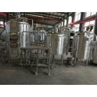 Wholesale 1000L-3000LTurnkey Brewery Equipment and Beer Brewery System with CE and ISO certification from china suppliers