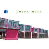 Wholesale Hotel Use Luxury Double Storey Prefab Houses Prebuilt Container Home Strong Frame from china suppliers