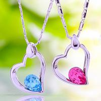 Wholesale Ref No.: 105010 Color Heart  heart pendant necklaces for women sell swarovski jewellery mom birthstone jewelry from china suppliers