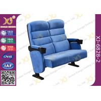 Wholesale Fine Finish Multifunctional Metal Iron Double Leg Widely  Cinema Theater Seating Chairs from china suppliers