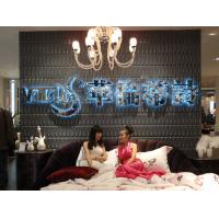 Wholesale Thermoform Composite PVC Wall Stencil 3D Wallpaper for Living Room / Office / Club from china suppliers