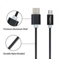 Quality Micro USB Cables YiwerDer High Speed Nylon Braided Cable Charging/Sync Data for Android Devices, Galaxy and more for sale