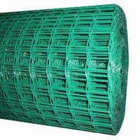 Wholesale 5 x 5cm Green PVC-coated Holland Wire Mesh for Farm Fence from china suppliers