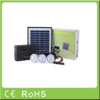 Buy cheap Wholesale 4W 11V lithium battery with LED bulbs lighting system home solar kit from wholesalers
