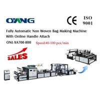 Wholesale Muti - Functional PP Non Woven Fabric Bag Making Machine , T Shirt Bag Making Machine from china suppliers