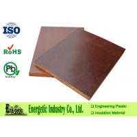 Wholesale Brown Phenolic Cotton Cloth Laminated Sheet and Rod , 1020mm x 2020mm from china suppliers
